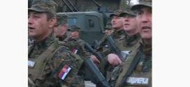 DA SE NAJEŽIŠ! ODLAZIMO NA KOSOVO RAVNO: Pogledajte kako su pripadnici ŽANDARMERIJE ZAPEVALI HIMNU KOSOVSKIH JUNAKA!